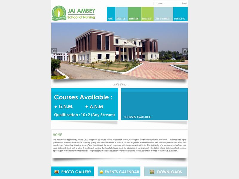 Jai Ambey School of Nursing