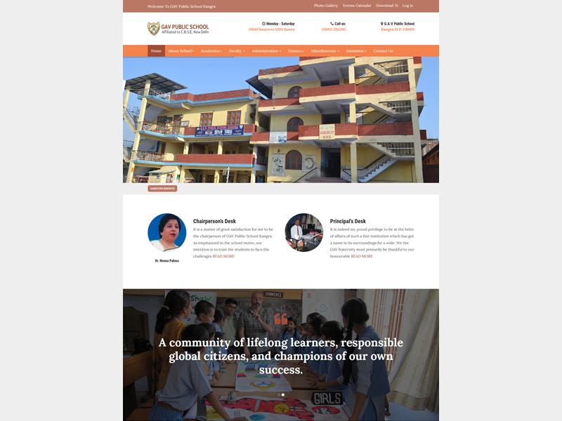 GAV Public School Kangra
