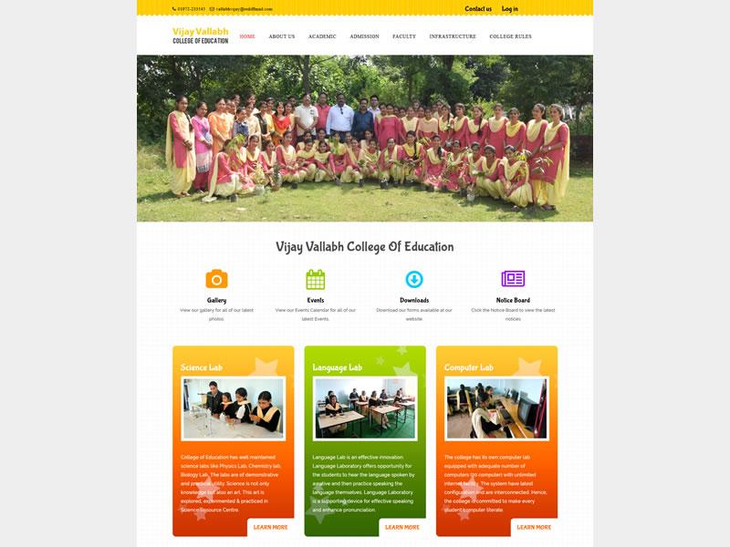Vijay Vallabh College Of Education